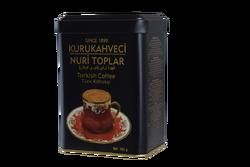 kurukahveci nuri toplar - KURUKAHVECİ NURİ TOPLAR 150 GR. Teneke Kutu Türk Kahvesi