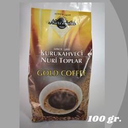 - KURUKAHVECİ NURİ TOPLAR GOLD COFFEE 100 GR.